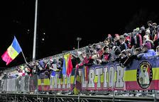 L'FC Andorra s'estrenarà com a local a Prada de Moles sense espectadors