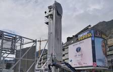 Una nòria de 27 metres d'alçada, l'atracció pel Nadal de la capital