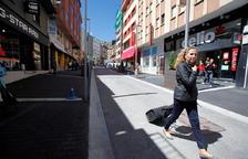 El carrer Major del Pas de la Casa abans de la Covid.