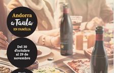 El cartell de les jornades 'Andorra a taula'