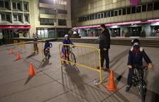 Sant Julià impulsa uns cursets infantils d'iniciació a la bicicleta