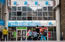 Els ingressos del Palau de Gel cauen un 40 per cent