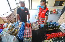 La Creu Roja organitza una col·lecta per al cap de setmana