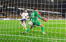 La sub-21 planta cara però cau i no pot repetir la gesta contra Anglaterra (3-1)