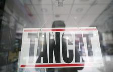 Un negoci tancat per la pandèmia