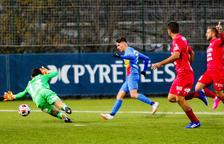 Un gol d'Iker dona oxigen a l'FCAndorra (1-0)