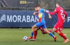 El capità de l'FC Andorra, Rubén Bover, positiu per Covid-19