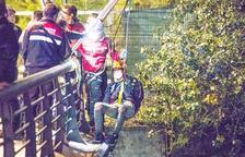 Tribaldos va ser capturat al riu a Santa Coloma.