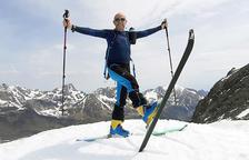 """Un """"malalt"""" de la neu i apassionat de l'esquí"""