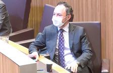 El cap de Govern,Xavier Espot.