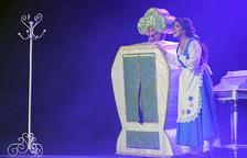 Un dels moments de la funció de 'La Bella i la Bèstia'.