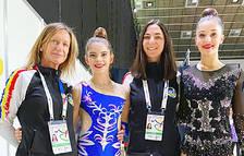 Fiona Pallarés, Carla Amorós, Ana Gimeno i Berta Miquel.