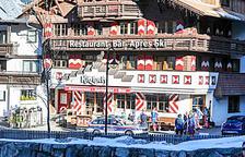 El bar Kitzloch, un dels 'après' més famosos d'Ischgl.