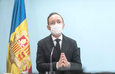 El cap de Govern, Xavier Espot, va anunciar en una roda de premsa l'ajornament de l'inici de la temporada.