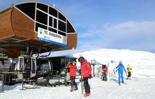 Les estacions d'esquí catalanes obren amb afluència desigual d'usuaris