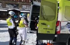 Els esquiadors de la FAE entrenen a Grau Roig