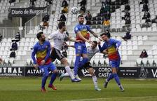 L'FC Andorra perd a Burgos i cau eliminat de la Copa del Rei (2-0)