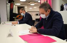 Andorra Telecom i Bomosa s'alien per l'emprenedoria