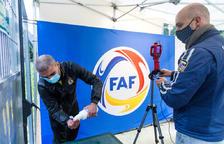 La FAF fa 1.800 tests