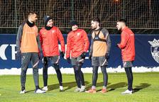 L'FCAndorra torna als entrenaments amb la vista posada en el Lleida Esportiu