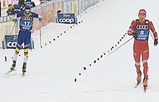 Irineu Esteve se situa entre l'elit al Tour d'Ski