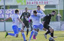 La falta de gol condemna l'FC Andorra al Prat (1-0)