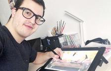 """""""Seguiré esforçant-me per viure com a dibuixant de còmics""""."""