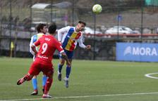 L'FC Andorra afronta un duel directe contra el Lleida pendent de la neu i el terreny de joc