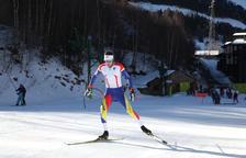 Esteve, amb problemes als esquís, acaba 33è a la sisena etapa