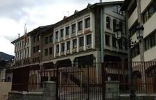 Inundades sis aules de l'escola francesa de la Massana