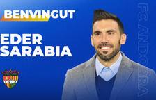 Eder Sarabia, nou tècnic de l'FC Andorra