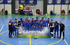 El Sideco FC Encamp celebra la victòria.