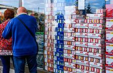 Davallada general d'un 45% en les vendes de tabac l'exercici passat