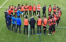 L'estrena de Sarabia a la banqueta de l'FC Andorra, ajornada