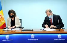Educació iAndorra Telecom signen un conveni per modernitzar la xarxa wifi