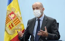 Joan Martínez Benazet en la compareixença d'aquest migdia