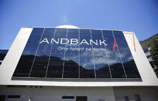 Oficines d'Andbank a Escaldes-Engordany.