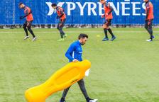 Ajornat l'Espanyol B-Andorra per cinc positius 'periquitos'