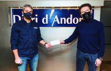 Donatiu del diari d'andorra a Creu Roja Andorrana