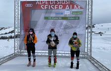 Triomf de Carla Mijares a l'eslàlom FIS d'Alpe di Suisi