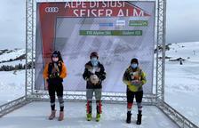 Carla Mijares s'imposa a Alpe di Suisi i millora els punts FIS