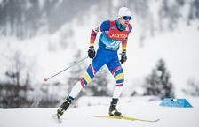 Irineu Esteve acaba 23è a la Copa del Món de Falun