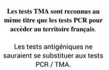 Els turistes francesos es podran fer TMA als 'Stop Labs'