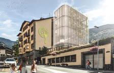 Projecte per convertir l'hotel Casamanya en una escola