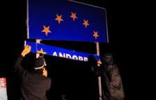 Corts condemna a Arran a pagar 1.835 euros per arrencar els cartells