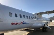 Primer avió comercial d'Andorra Airlines amb base a La Seu