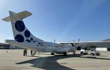 Andorra Airlines reviu amb un avió comercial a la Seu d'Urgell