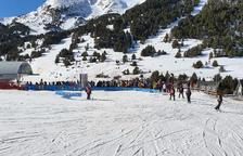 Esquiadors cauen d'un telecadira del Tarter per un cop de vent