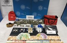 Presó per al traficant que tenia 2 quilos de marihuana