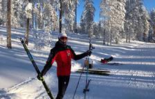 Vila participa avui als 7,5 quilòmetres clàssics i 7,5 patinador.